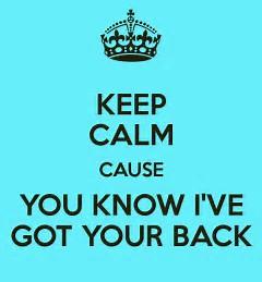 kc I got your back