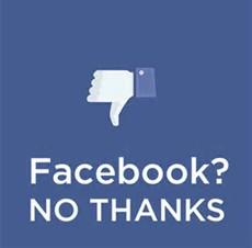 facebook no thanks