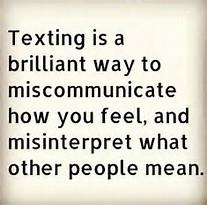 miscommunication text