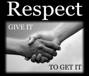 respectgiveittogetit