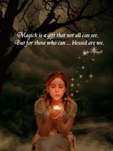 blessed magic