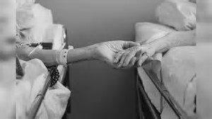 eldery hands