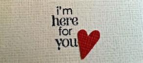 im here for u