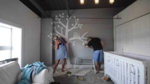 parents painting