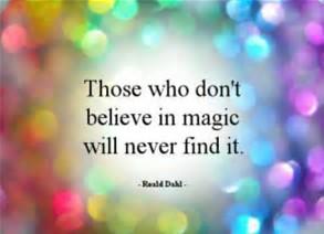 will never find magic
