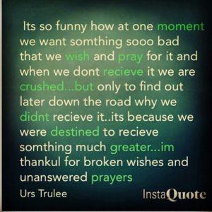 broken wishes